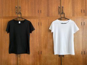 白いシャツ画像