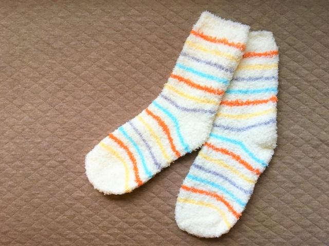 ワークマンの靴下3