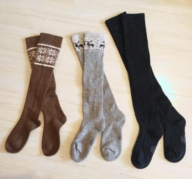 ワークマンの靴下